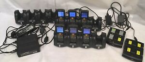 Lot Of Motorola symbol Mc3090 Barcode Inventory Scanners Docks Batteries