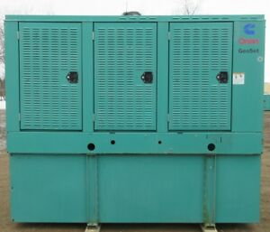 200 Kw Cummins Onan Diesel Generator Genset Load Bank Tested