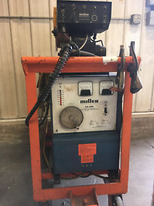 Cp 300 Miller Wirefeed Mig Welder 100 Duty Cycle