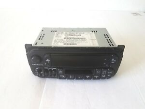 98 99 00 01 Chrysler Dodge Jeep Cassette Radio Stereo Oem Plug And Play