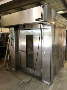 Lucks R20g Double Rack Bakery Baking Natural Gas Oven 275 000 Btu With Hood