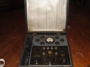 Rare Vintage 1936 Bendix Day Rad Vacuum Tube Tester Series 27