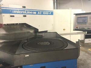 Running Peter Wolters Ac 1000 f Microline Cnc Fine Grinder Dual Lapping Machine