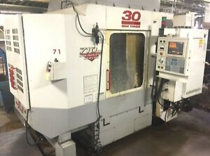 Haas Hs 1 Hs1 Dual 15 Pallet 30hp Cnc Hmc Milling Horizontal Machining Center