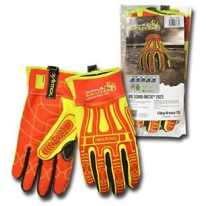 Rig lizard Gloves Cold Cut Abrasion Impact Resistant Gloves 2xl