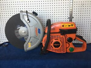 14 Norton Clipper High Speed Gas Power Saw Cp514 350 5 4hp Ilube Nice