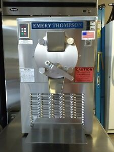 Emery Thompson Cb 350 Ice Cream Gelato Batch Freezer