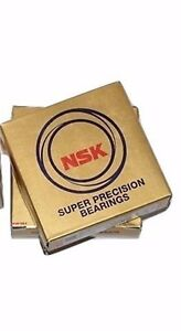 2 Pcs Nsk 7014ctrdulp4y Abec 7 Super Precision Spindle Bearings Set New
