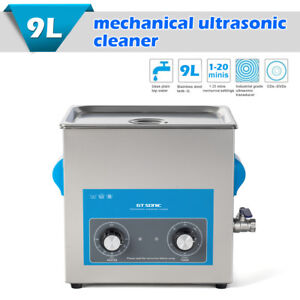 9l Stainless Ultrasonic Cleaner Ultra Sonic Bath Cleaning Machine Heater