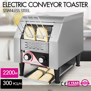 New Avatoast Commercial Conveyor Toaster Restaurant Equipment Bread Bagel Food