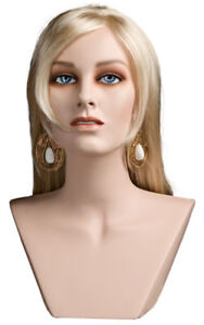 Mannequin Head Female Wig Display Heads From Vaudevillemannequins com Jill