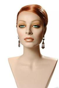 Mannequin Head Female Wig Display Heads From Vaudevillemannequins com Lorenna