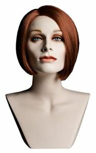 Mannequin Head Simone Female Wig Display Heads Vaudevillemannequins com