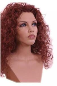 Black Mannequin Head Che Female Wig Display Heads From Vaudevillemannequins com