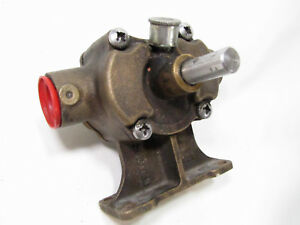 Used Bronze Transfer Self Priming Pump Head Made By Michel 1 Pipe