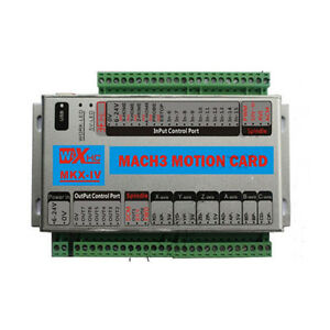 6axis Mach3 Motion Card Usb Interface Board Carving 2000khz Cnc Controller Board