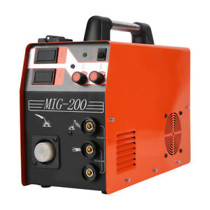 Mig Welder Gas Gasless Mig Welding Machine Stick Mma Lift Tig 3 In 1 Welder Inm