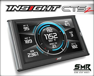 Edge Insight Cts2 Monitor Gauges Scanner For 2001 2020 Chevy Gmc Duramax 6 6l