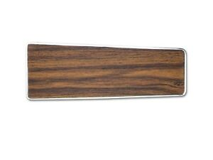 Mustang Console Plate Wood Teak 1970