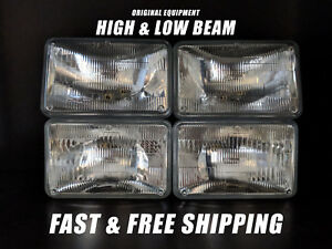 Oe Front Halogen Headlight Bulb For Chevy Camaro 1982 1992 High