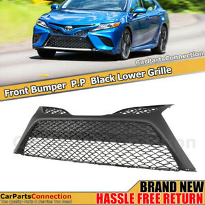 Front Lower Grille Bottom Grill For Toyota Camry 2018 2019 Se Xse Hybrid Snap In