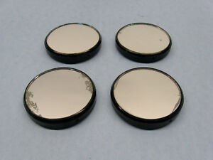 Lot Of 4 Vintage Microscope Mirrors