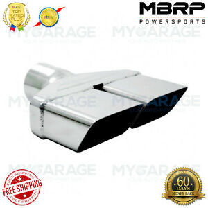 Mbrp Universal Rectangle 2 O D Inlet 8 Tip 8 X 2 Id Length T304 T5118