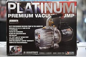 Jb Industries Platinum Dv 200n Evacuation Vacuum Pump 7 0 Cfm New In Box