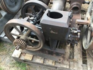 Stover Model K 1 1 2 Hp Coffin Top Open Crank Hit Miss Gas Engine