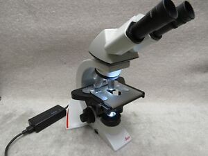 Leica Dm1000 Led Laboratory Microscope 63x 40x 20x Objectives Ivd Ivf
