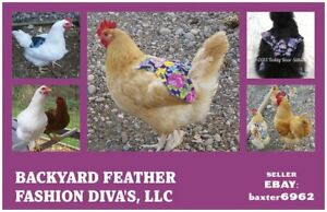 12 3 Free Chicken Saddle Apron Hen Jacket Back Protection Chicken Poultry