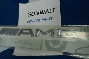 2208170815 Mercedes Benz Oe Factory Trunk Amg Emblem Badge