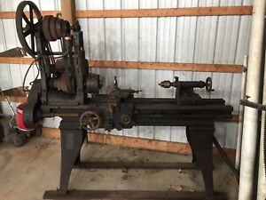 1920 s South Bend Metal Lathe Serial No 22261 6 bed