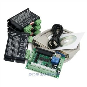 Cnc Kit 5 Axis Breakout Board Ema2 040d15 Drivers For Diy Router mill plasma