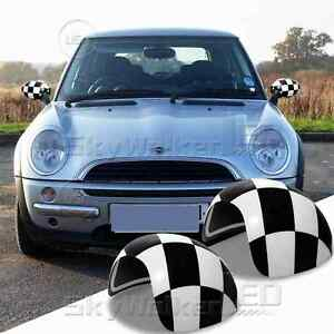 For Mini Cooper S R53 2000 06 Side Mirror Covers Caps Not A Mirror Base Checker