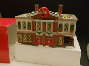 Dept 56 Coca -Cola Coke Bottling Plant  Original Snow Village