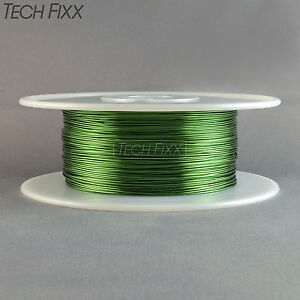 Magnet Wire 21 Gauge Awg Enameled Copper 790 Feet Coil Winding 155c Green