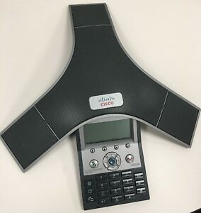 Cisco Polycom Cp 7937g Unified Ip Conference Station Phone Poe Extension Mics