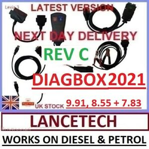 Full chip Rev C Lexia 3 Peugeot Citroen Diagnostic Interface Pp2000 Diagbox 9 91