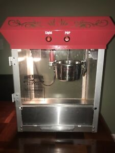 Great Northern Popcorn Gnp 800 All star Popcorn Popper Machine Red