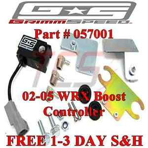 Grimmspeed Electronic Boost Controller Ebcs Solenoid For 02 05 Subaru Wrx
