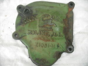 John Deere Sickle Bar Mower Gear Box Cover