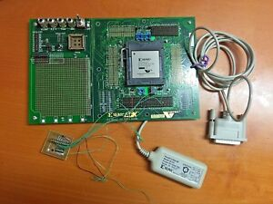 Xilinx Virtex Afx Bg432 100 Proto Board Dlc5 Parallel Cable Ii And 1 Device Xc