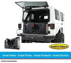 Smittybilt Xrc Tailgate With Tire Carrier For Jeep Jk Wrangler