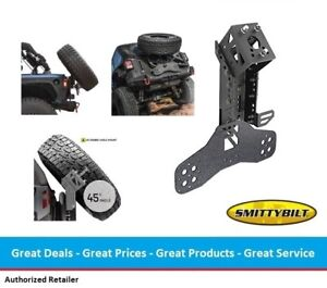Smittybilt Xrc Gen2 Tire Carrier Slant Back Tire Mount For Jeep Jk Wrangler