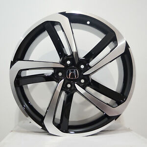 4 20 Inch Black Machined Rims Fits Honda Accord Coupe 4 Cyl 2008 2018