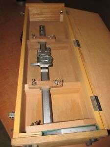 Height Gage Mitutoya 18 In Fitted Wooden Case