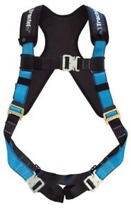 Tractel At732xxl xt Harness With Automatic Buckles Tracx Pad And Dorsal D ring