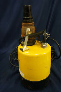 Wacker Ps2 500 Electric Submersible Water Pump