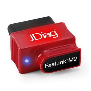 Jdiag Bluetooth Obd2 Scan Tool Car Engine Code Reader W Voice Control Function